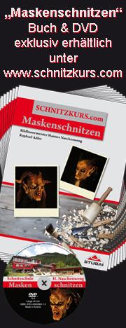 Buch Maskenschnitzen